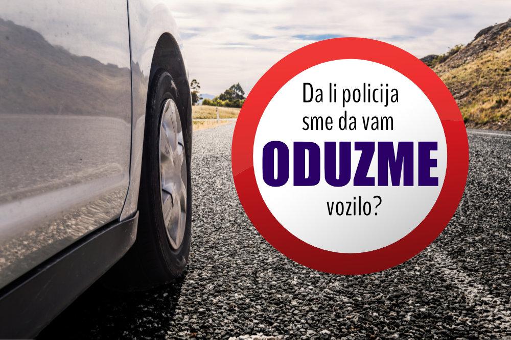 Da li će nesavesnim vozačima trajno oduzimati motorno vozilo?
